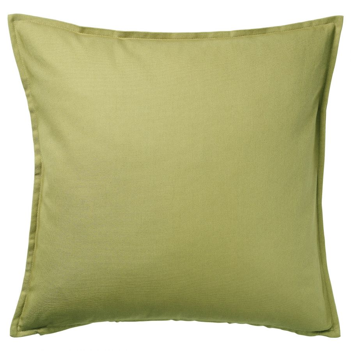 GURLI ГУРЛИ, Чехол на подушку, оливково-зеленый, 50x50 см - 804.746.98