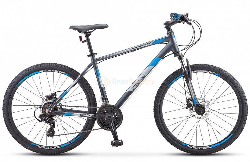 Велосипед горный Stels Navigator 590 D 26 K010 (2021)