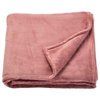TRATTVIVA ТРАТТВИВА, Покрывало, темно-розовый, 230x250 см - 304.421.86