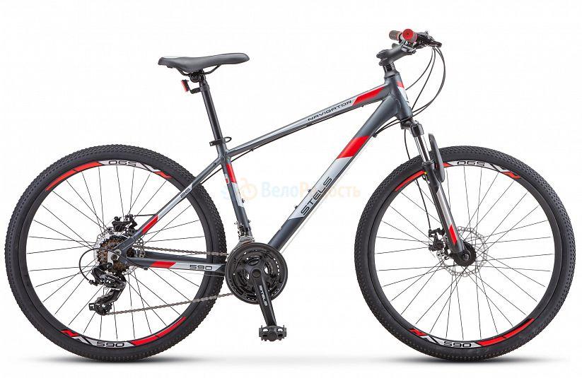 Велосипед горный Stels Navigator 590 MD 26 K010 (2021)