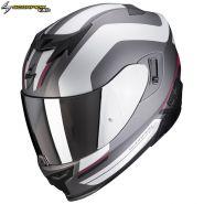 Шлем Scorpion EXO-520 Air Lemans, Серебристый матовый
