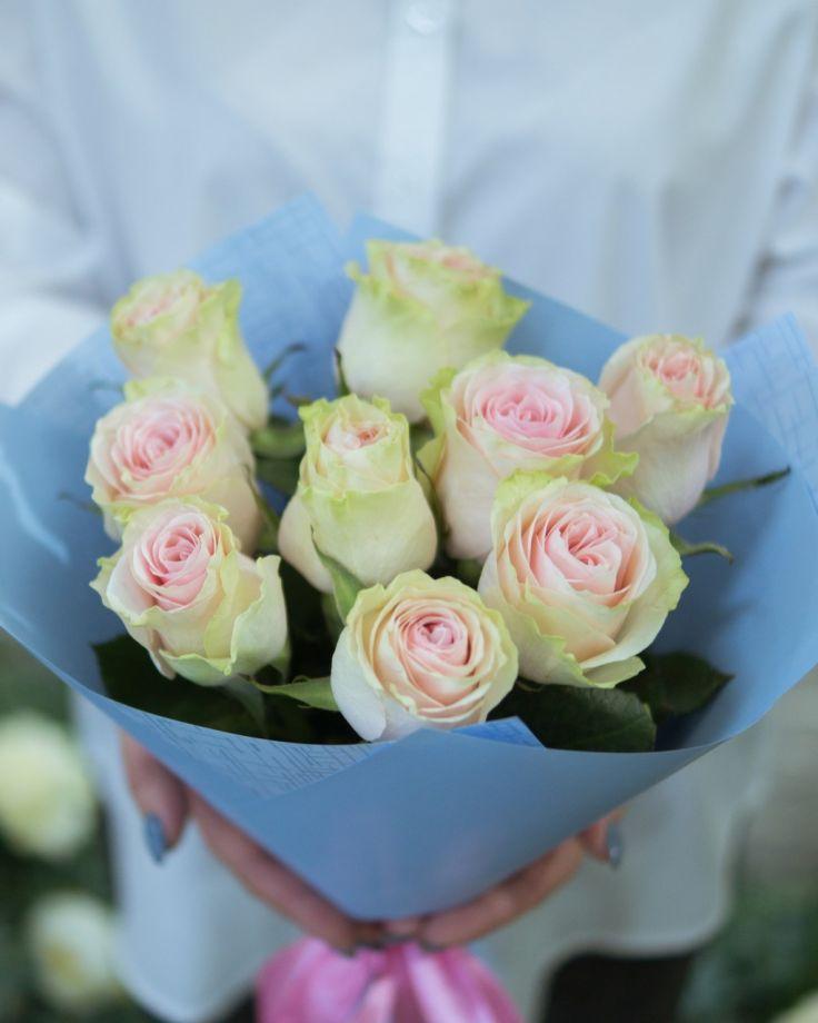 """Букет цветов """"9 роз"""" 4"""