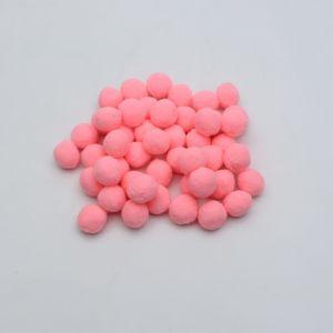 Помпоны, размер 25 мм, цвет 27 светло-розовый (1уп = 50шт)