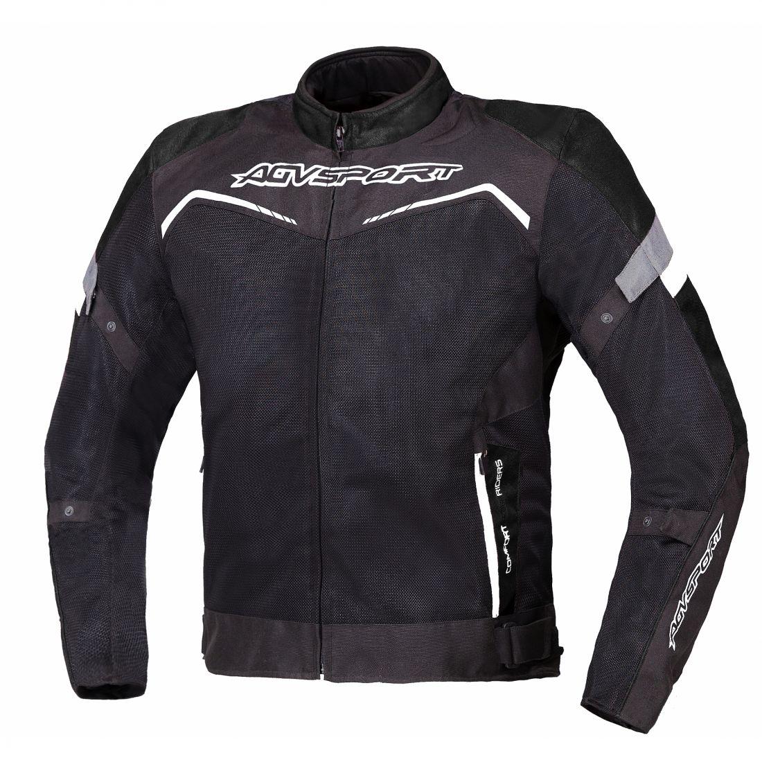 Текстильная куртка Testilo черная