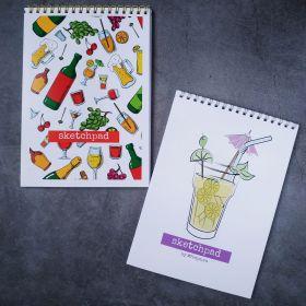 Sketchpad by Mprops.ru (форс) А5 (148 * 210 мм) (напитки)