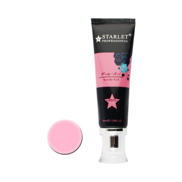 STARLET PROFESSIONAL Полигель (акригель)  №04 темно-розовый, 30мл