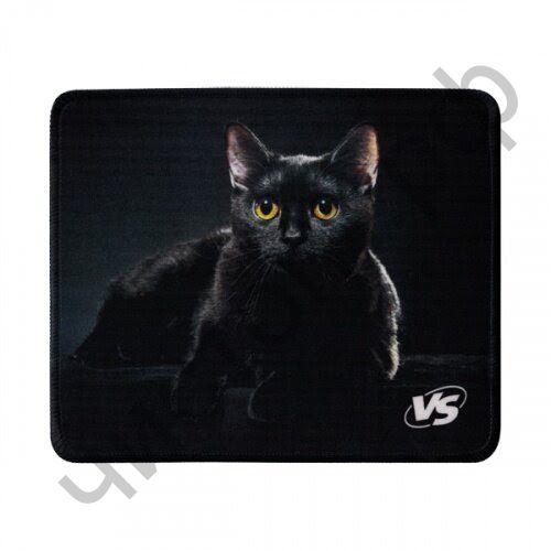 """Коврик для мыши VS """"Cat"""", Рис.1 (180*220*2 мм), ткань+резиновое основание"""