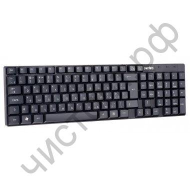 "Клавиатура провод. Perfeo ""DOMINO"", USB, черная (PF-8801)"