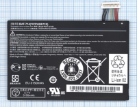 Аккумулятор Acer Iconia Tab A110 (BAT-714 (1ICP4/68/110)) Оригинал