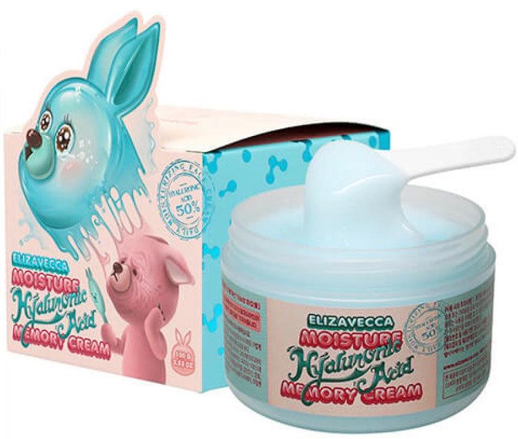 Крем-пудинг с гиалуроновой кислотой увлажняющий Elizavecca Moisture Hyaluronic Acid Memory Cream, 100 гр