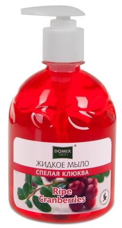 """Жидкое мыло """"Спелая клюква"""", 500 мл. Domix"""