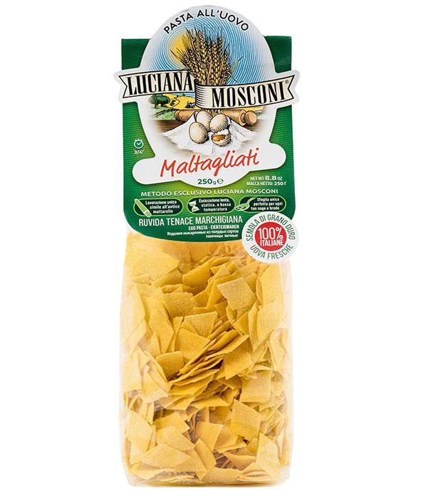 Яичная паста Мальтальяти 250 г, Maltagliati, Luciana Mosconi 250 g