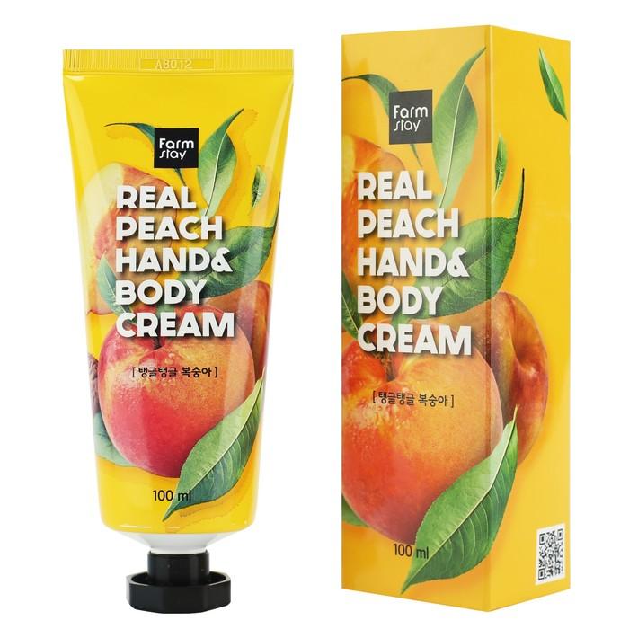 Питательный крем для рук с экстрактом персика Farm Stay, 100 мл