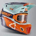 Leatt Kit Moto 7.5 V21.2 Ice комплект шлем внедорожный и очки