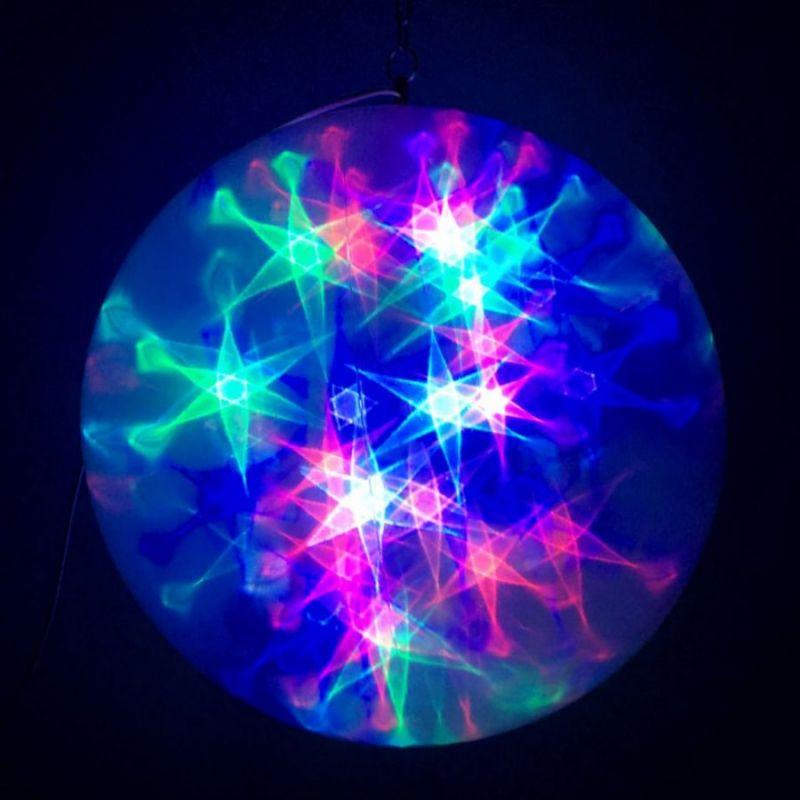 Большой Эксклюзивный Шар С LED Светодиодами, Диаметр 45 См