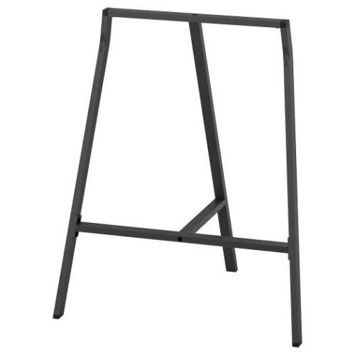 LERBERG ЛЕРБЕРГ, Опора для стола, серый, 70x60 см - 803.852.11