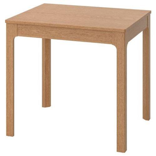 EKEDALEN ЭКЕДАЛЕН, Раздвижной стол, дуб, 80/120x70 см - 103.578.34