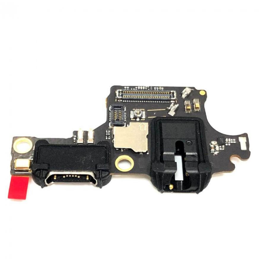 Нижняя плата с разъемом зарядки, наушников и микрофоном для Huawei Honor 10 (Original)
