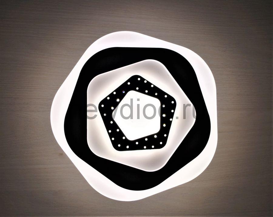 Светильник светодиодный настенно-потолочный GEOMETRIA 152 18W 4000K 200mm белый OREOL