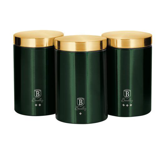 BH-6272 Emerald Collection Набор контейнеров для хранения 3 пр.