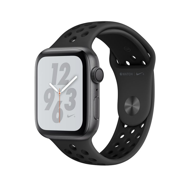 Apple Watch Nike+ Series 4 40mm (GPS) Space Gray Aluminum Case with Anthracite/Black Nike Sport Band (MU6J2)