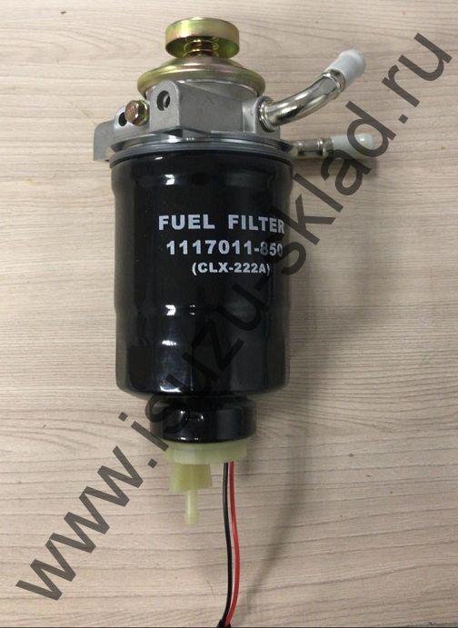 Фильтр топливный в сборе с помпой (4HK1) NQR/Богдан