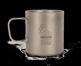 Титановая термокружка NZ Ti Double Wall Mug 600 ml TMDW600FH