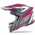 Airoh Strycker Shaded Pink Matt шлем для мотокросса и эндуро