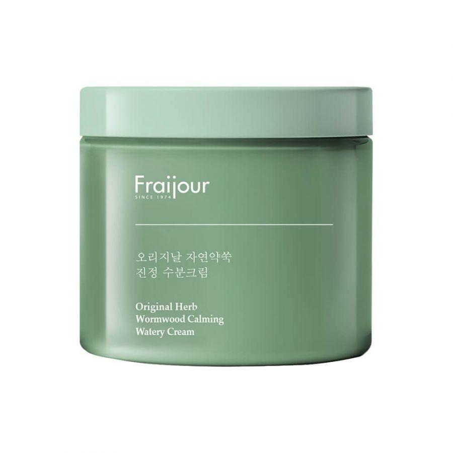 Легкий увлажняющий крем с полынью Fraijour Original Herb Wormwood Calming Watery Cream, 100 мл