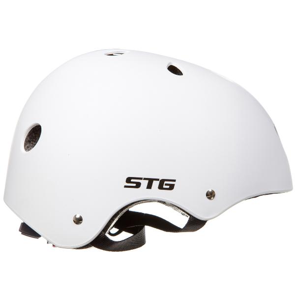 Шлем STG , модель MTV12, размер S(53-55)cm белый, с фикс застежкой