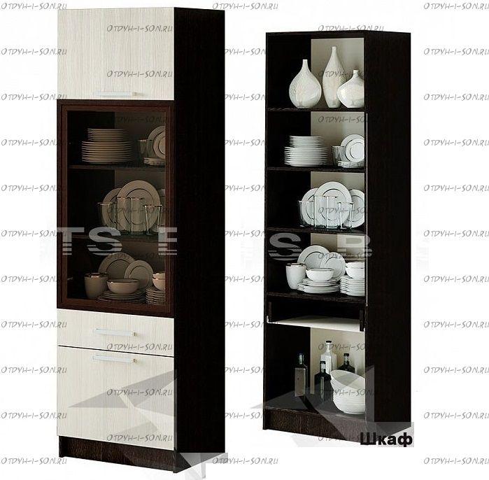 Шкаф для посуды Фиеста BTS (60х46х199)