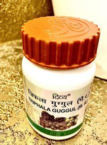 Трифала Гуггул Дивья (Triphala Guggul Divya Pharmacy),40 таб