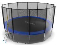 Батут EVO jump 16 ft External (Blue) + Lower net