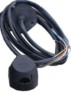 Розетка 7 контактная с проводами