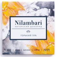 Шоколад горький 70%. Nilambari. 65 г