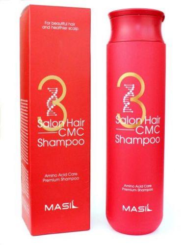 Шампунь восстанавливающий с аминокислотами MASIL 3 Salon Hair CMC Shampoo 300 ml MASIL