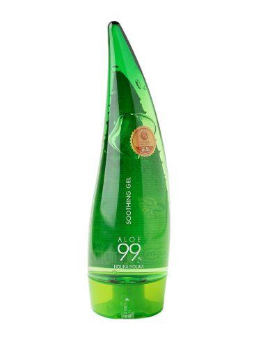 Универсальный несмываемый гель алоэ вера Aloe 99% Soothing Gel 250мл Holika Holika