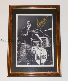 Автограф: Ринго Старр. The Beatles