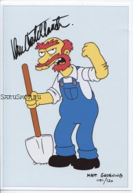 Автограф: Дэн Кастелланета. Симпсоны / The Simpsons