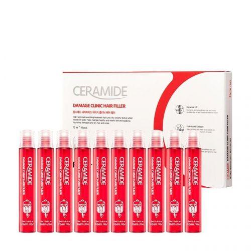 Филлер для волос FarmStay Ceramide Damage Clinic Hair Filler 13 мл 1 шт