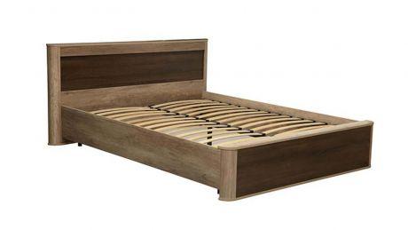 Кровать двуспальная 34.25 - 01 Фантазия с ортопедическим осн. (1400)