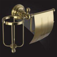 Держатель туалетной бумаги и освежителя воздуха Elghansa Praktic PRK-360 Bronze