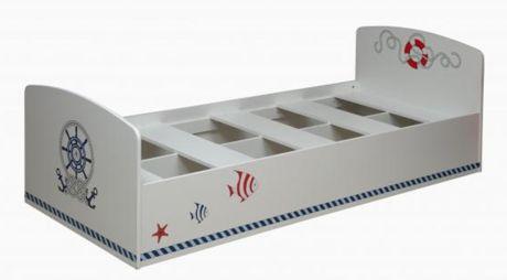 Кровать одинарная Лего - 2 (УФ-печать)