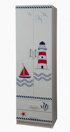 Шкаф для одежды Лего - 3 (УФ-печать)