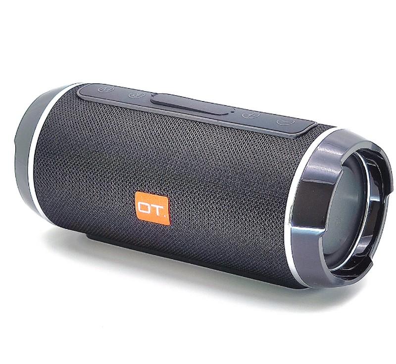 Колонка c bluetooth Орбита OT-SPB56 Черная (SD/TF, USB, bluetooth)