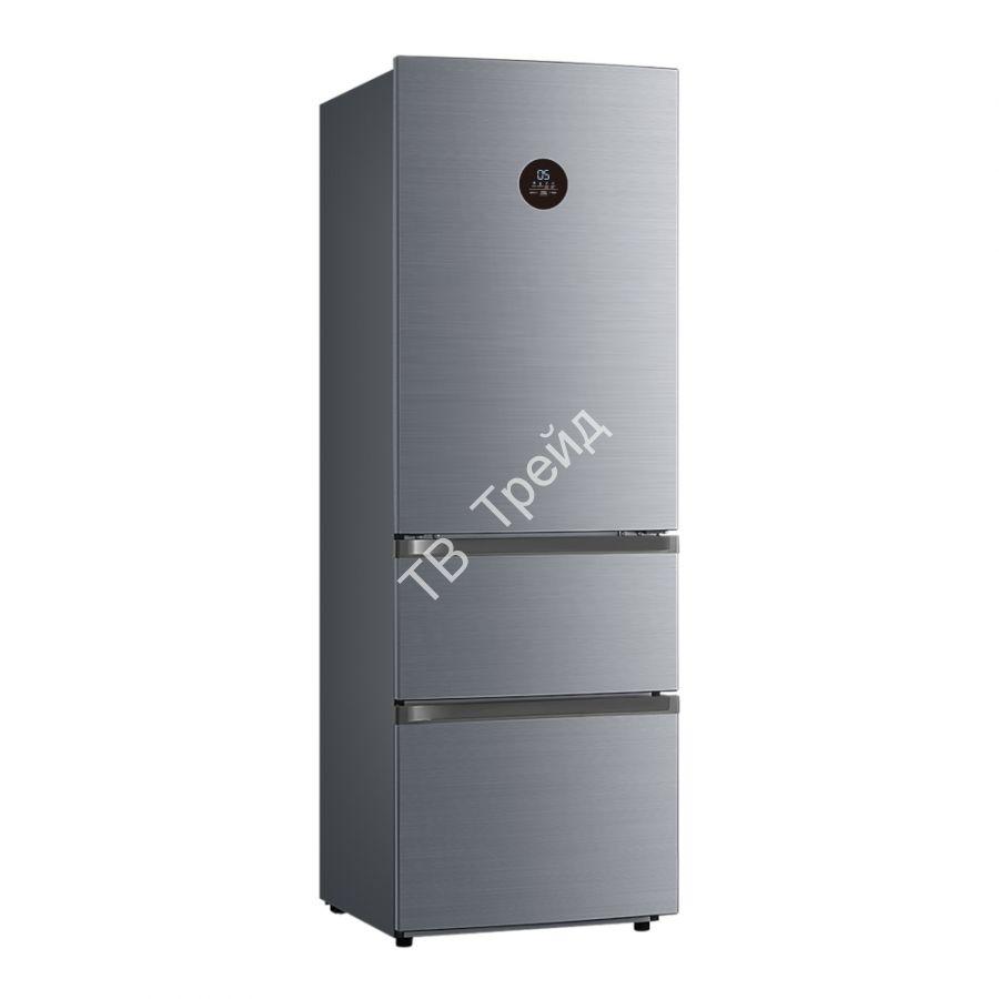 Трехдверный холодильник Korting KNFF 61889 X