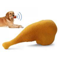 Игрушка - пищалка для собак Куриная ножка