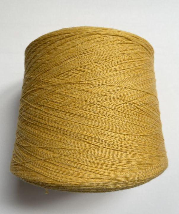 Меринос с кашемиром Botto Poala Oregon цвет желтый