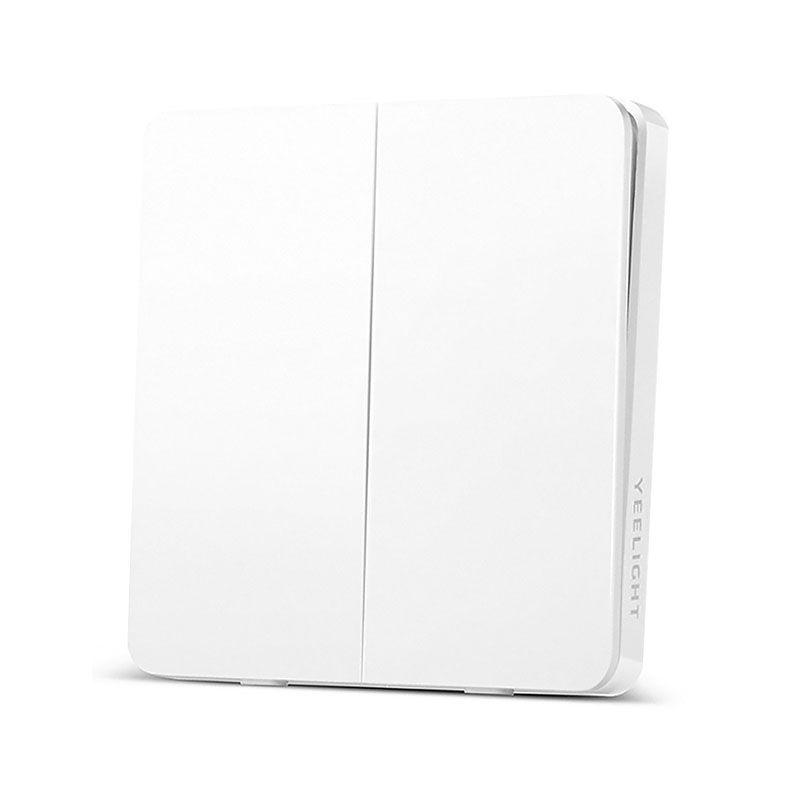 Настенный выключатель Xiaomi Yeelight Smart Switch Light двойной (YLKG13YL)