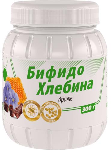 Драже БифидоХлебина, 300г